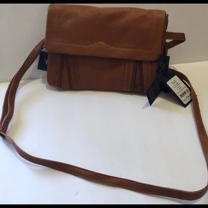 Brown Day & Mood Leather Crossbody- Anthropologie